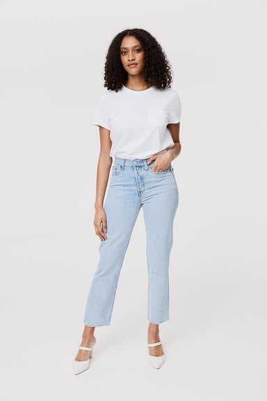 Wedgie Fit Straight Jeans - Montgomery Baked