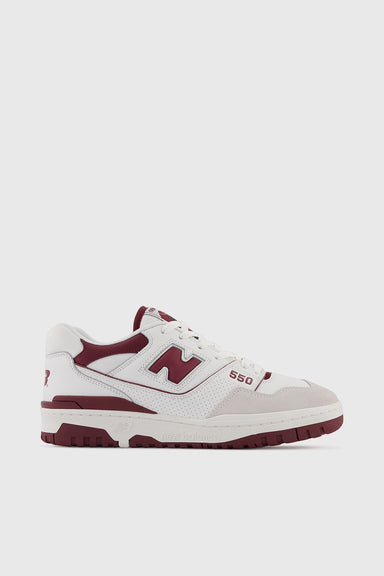 BB550LI1 - White / Maroon