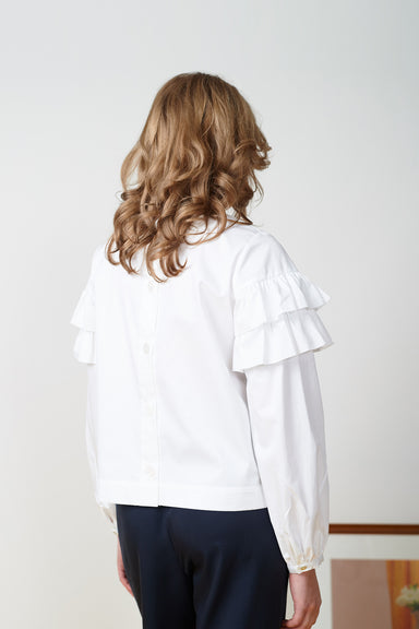 Ayan Top - White