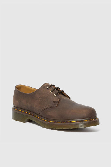 1461 Leather Shoes - Gaucho Crazy Horse