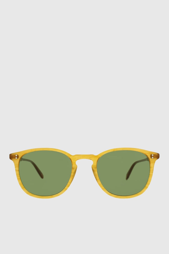 0271ae364c Garrett Leight Kinney - Butterscotch   Pure Green