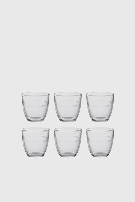 Gigogne Tumbler 90ml Set of 6 - Clear