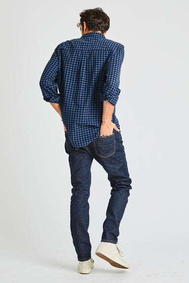 Men At Work Shirt - Trade Blue Check