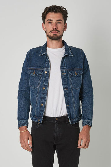 Rolla's Denim Jacket - Eco Heavy Stone