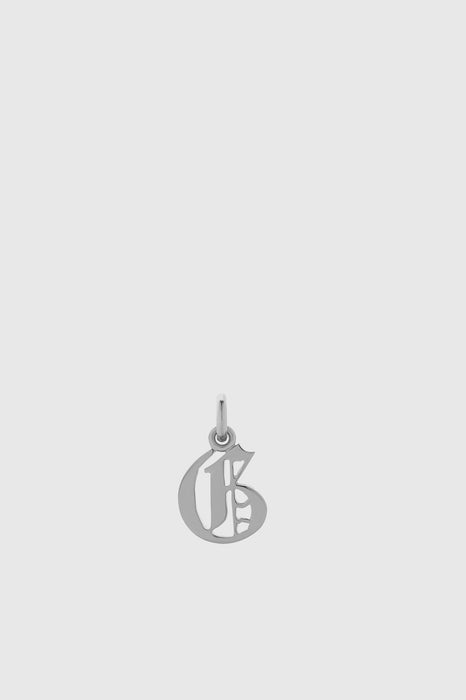 Petite Capital Letter Charm - Sterling Silver
