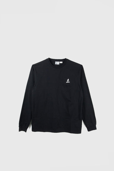 Big RunningMan LS Tee - Black