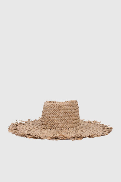 Burma Hat - Dark Tan