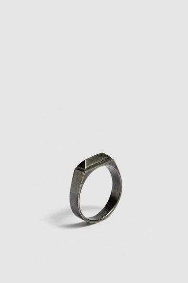 Fourth Ring - Oxidised Silver