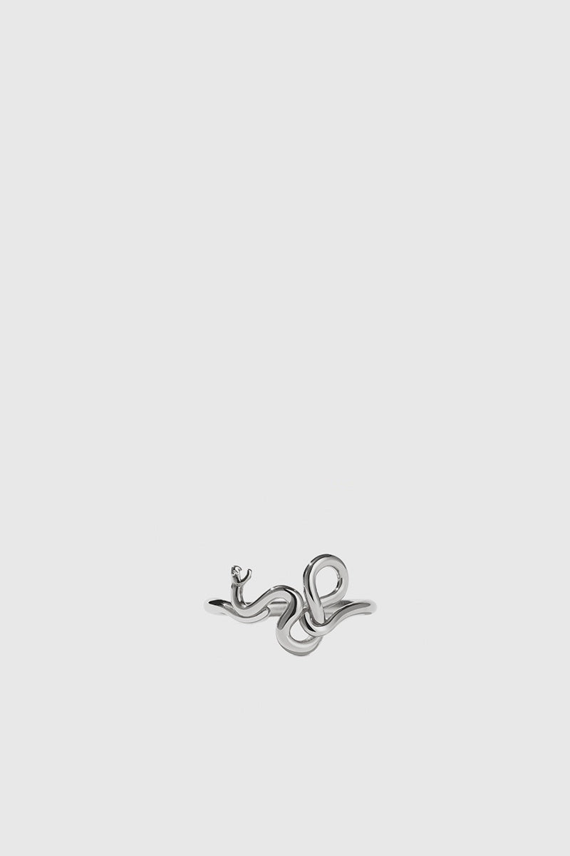 Medusa Ring - Sterling Silver