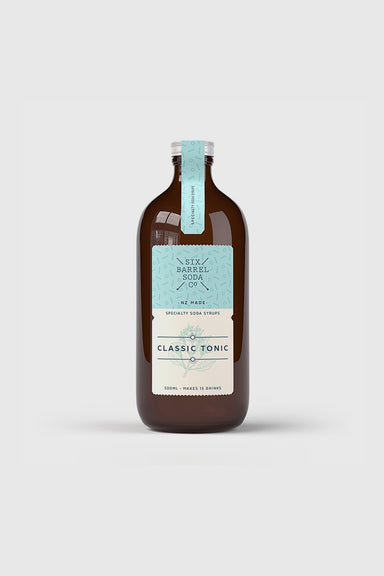 Classic Tonic Syrup 500mL