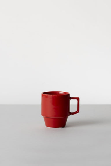 Block Mug Big - Red