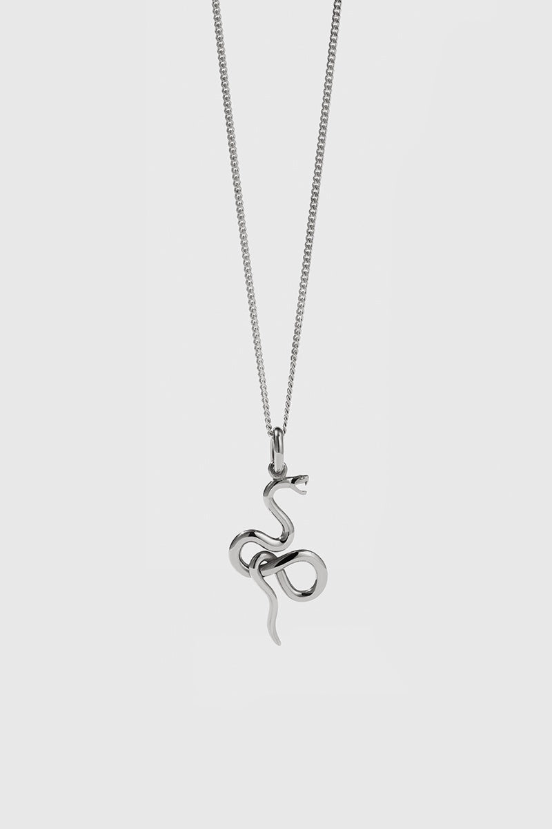 Medusa Necklace - Sterling Silver