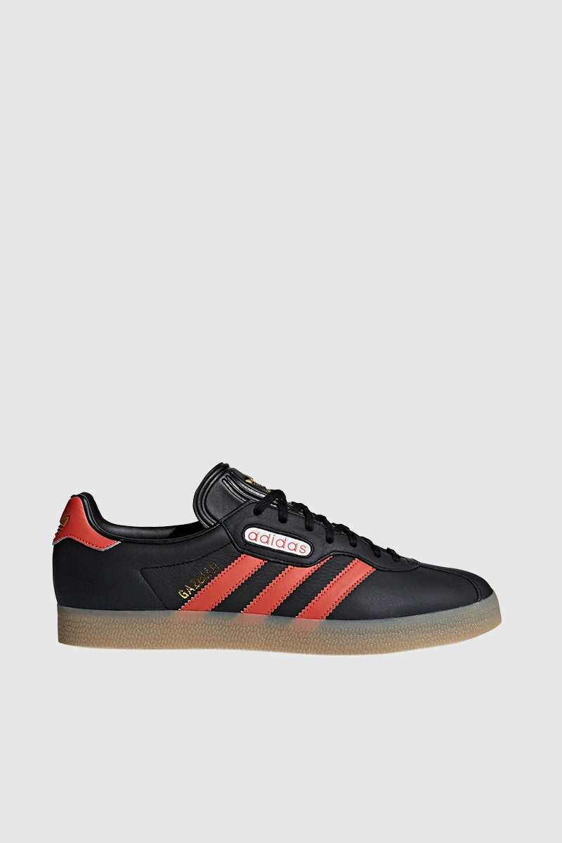 Gazelle Super - Core Black/Trace Scarlet
