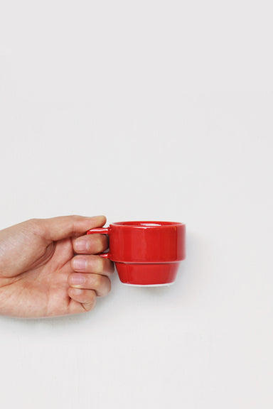 Block Mug Little - Red