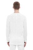 Raglan Long Sleeve Tee - Used White
