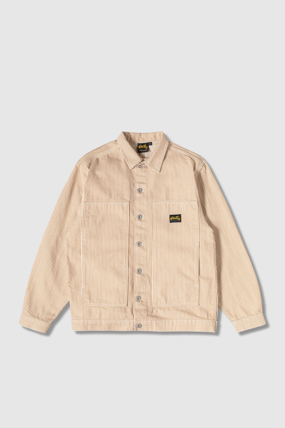 Box Jacket - Khaki Hickory