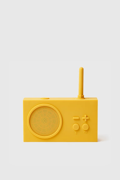Tykho 3 FM Radio & Bluetooth Speaker - Yellow