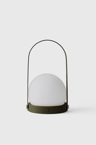 Carrie LED Lamp - Olive