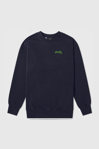 Stan Crew - Navy / Fresh Green