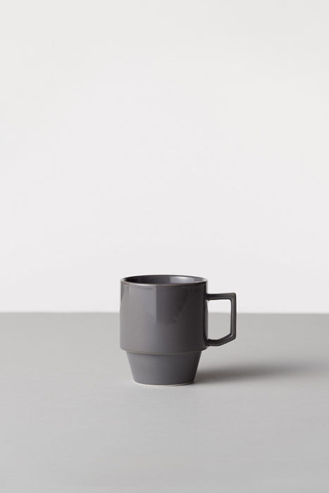 Block Mug Big - Gray