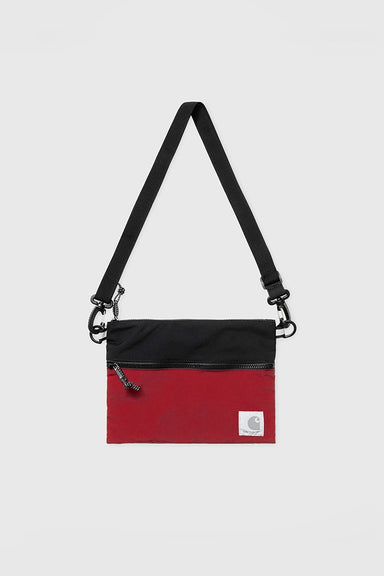 Dexter Strap Bag - Black / Blast Red