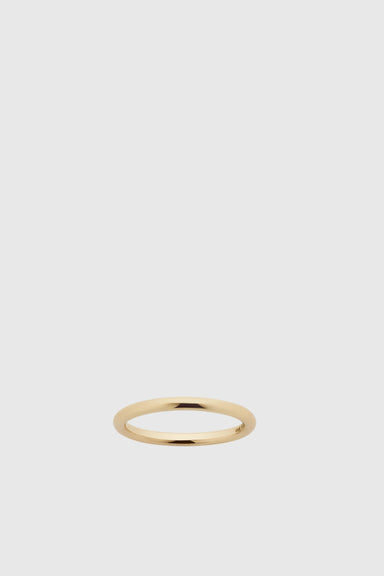 2mm Halo Band - 9ct Yellow Gold