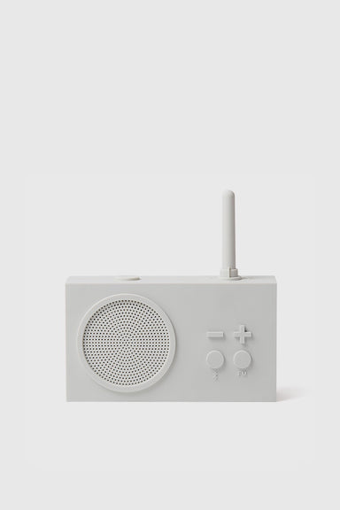 Tykho 3 FM Radio & Bluetooth Speaker - Mastic