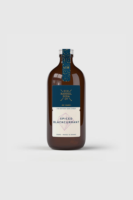 Spiced Blackcurrant Syrup 500mL