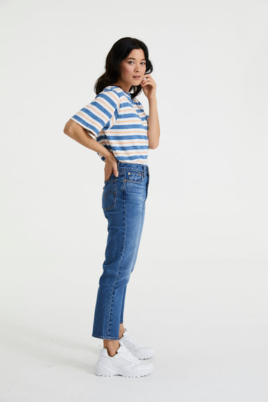 Wedgie Fit Straight Jeans - Jive Sound
