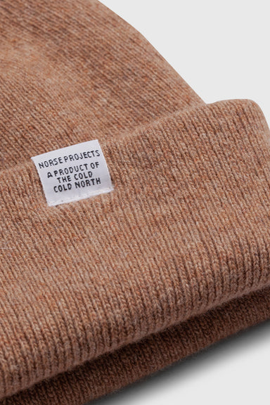 Light Wool Beanie - Utility Khaki