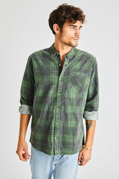 Tradie Check Shirt - Forest Check