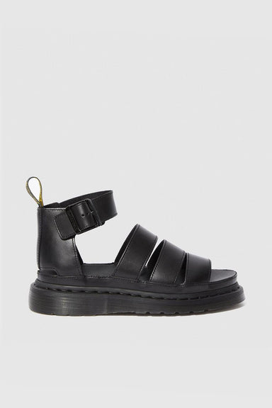 Clarissa II Leather Sandals - Black Brando