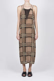 Vegas Dress - Multi Check