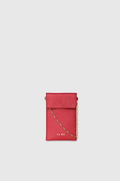 1/8 Luci Bag - Pompeian Red