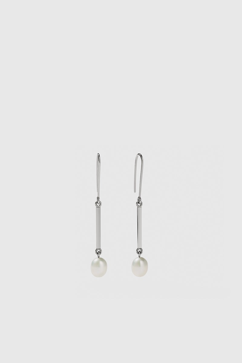 Roma Earrings Small - Sterling Silver