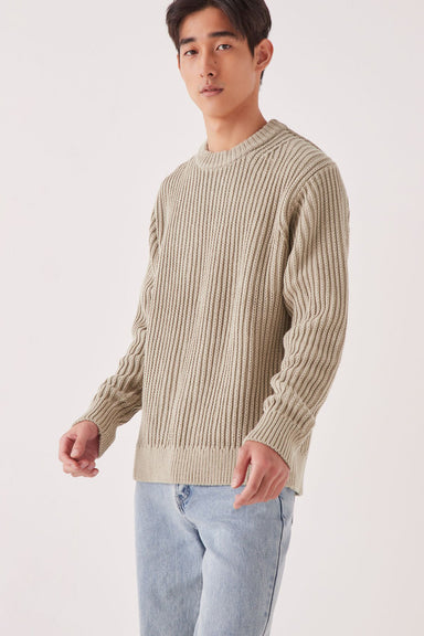 Lyam Knit - Washed Khaki