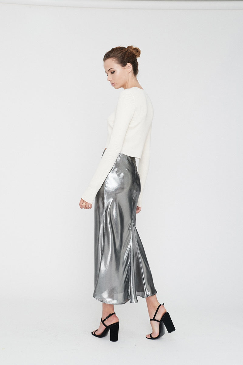 Hils Skirt - Silver
