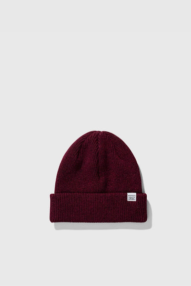 Norse Beanie - Mulberry Red