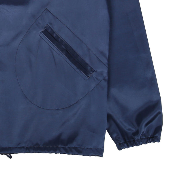 Portland Beavers Satin Jacket - Navy
