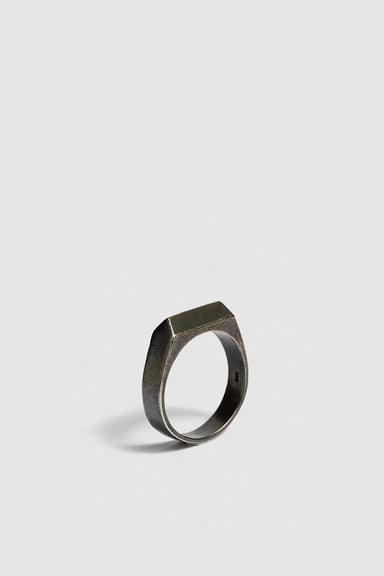 Second Ring - Oxidised Silver
