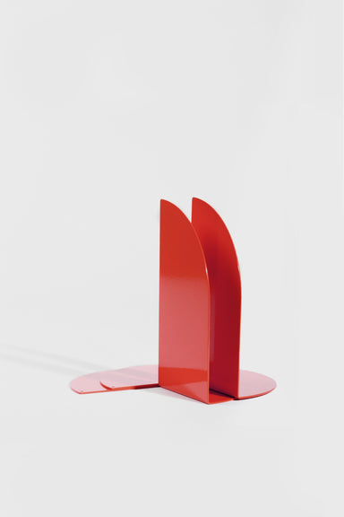 Folded Bookend Pair - Red
