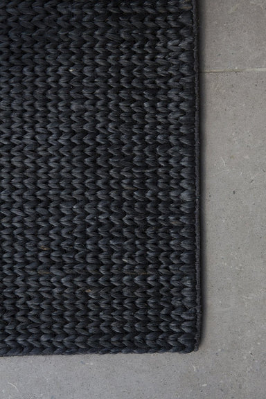 Pony Braid Entrance Mat - Midnight Grey