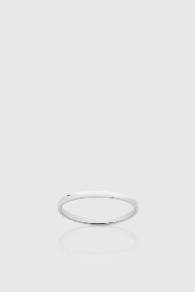 Single Stacker Ring - Sterling Silver