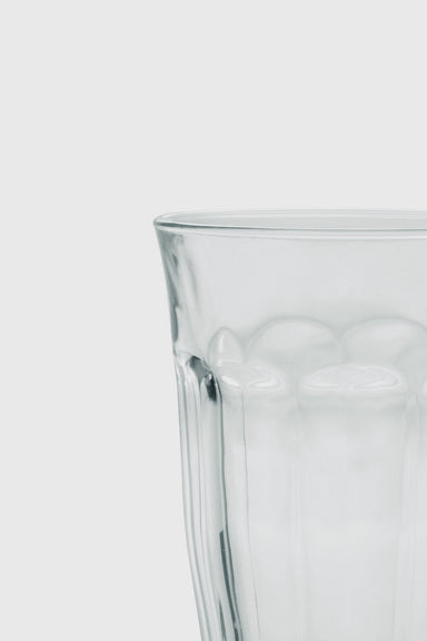 Picardie Tall Tumbler 360ml Set of 6 - Clear