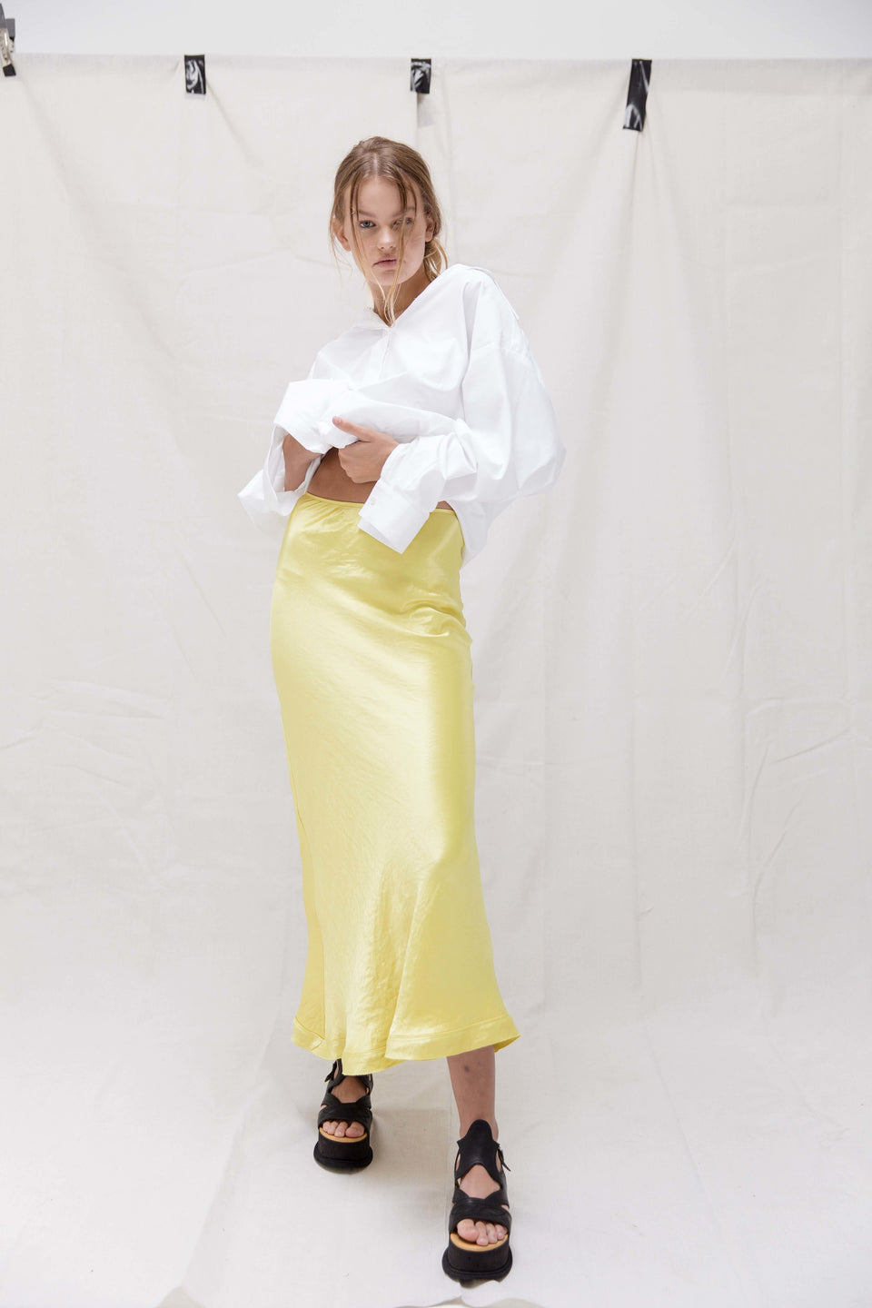 Yellow Tourmaline skirt - yellow