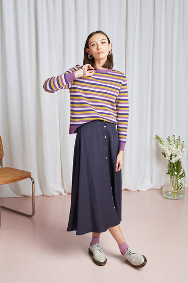Willow Skirt - Navy