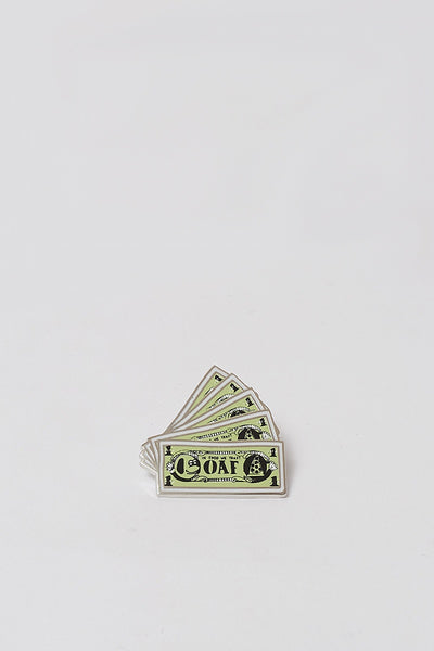 Money Pin Badge