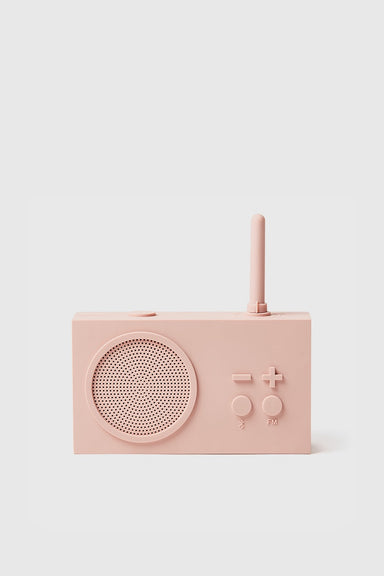 Tykho 3 FM Radio & Bluetooth Speaker - Pink
