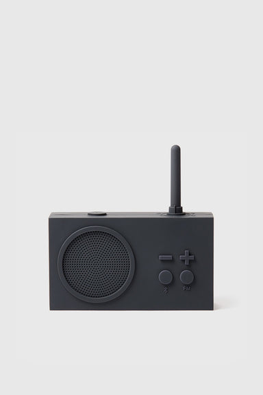 Tykho 3 FM Radio & Bluetooth Speaker - Dark Grey