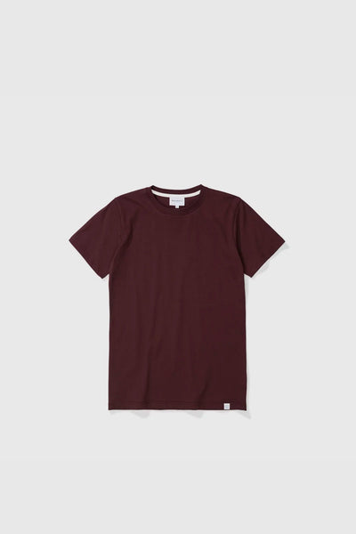 Niels Standard Short Sleeve - Eggplant Brown